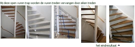 Trappen - Renovatie van een houten trap ...